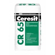 Церезит CR 65 цементная гидроизоляционная масса 25 кг.
