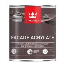 Tikkurila Facade Acrylate / Тиккурила Фасад Акрилат универсальная акрилатная краска