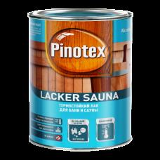 Pinotex Lacker Sauna 20 / Пинотекс термостойкий лак для сауны и бани полуматовый