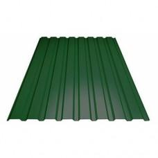 Профнастил зеленый С-8мм. 2000*1200 мм.