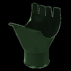 Воронка желоба зеленая